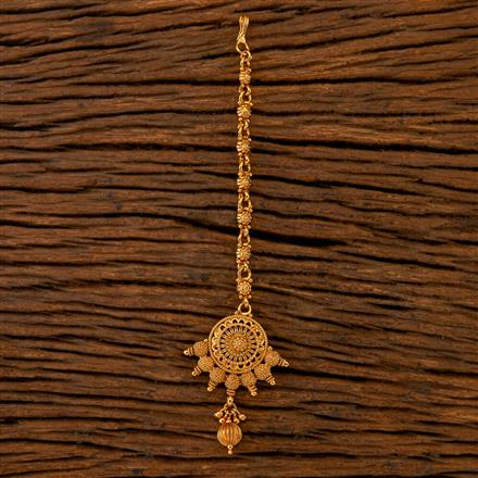 202506 Antique Delicate Tikka with Gold Plating