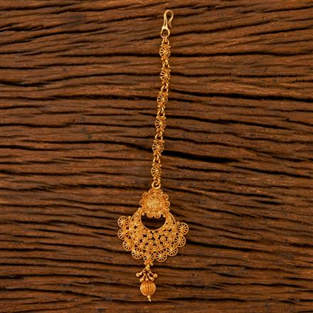 202508 Antique Chand Tikka with Gold Plating