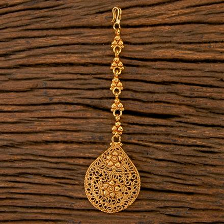 202509 Antique Delicate Tikka with Gold Plating