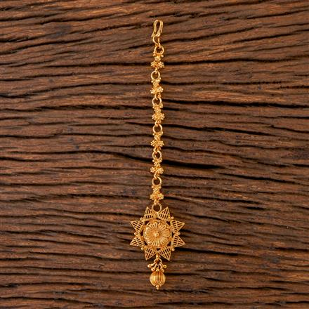 202512 Antique Delicate Tikka with Gold Plating