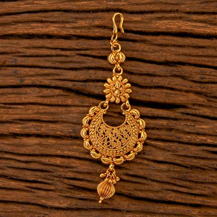 202513 Antique Chand Tikka with Gold Plating