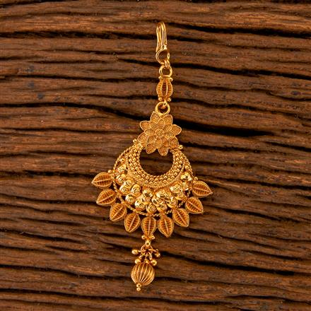 202515 Antique Chand Tikka with Gold Plating