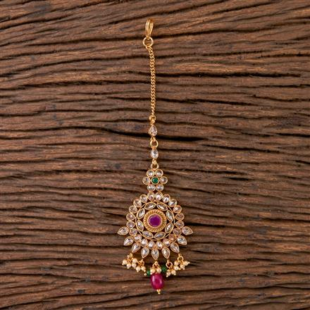 202596 Antique Classic Tikka with Gold Plating