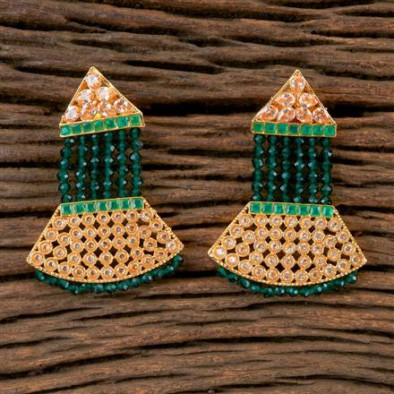 202751 Antique Classic Earring with Gold Plating