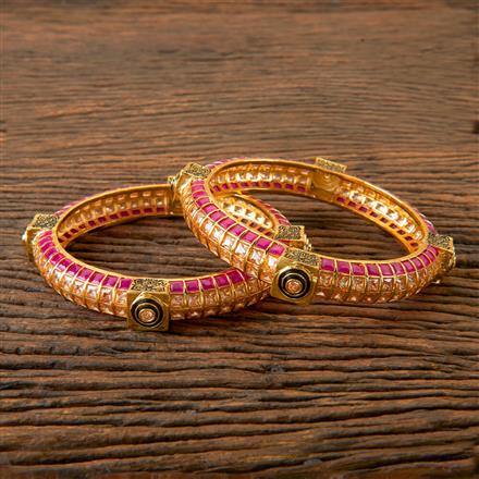 202766 Antique Classic Bangles with Gold Plating