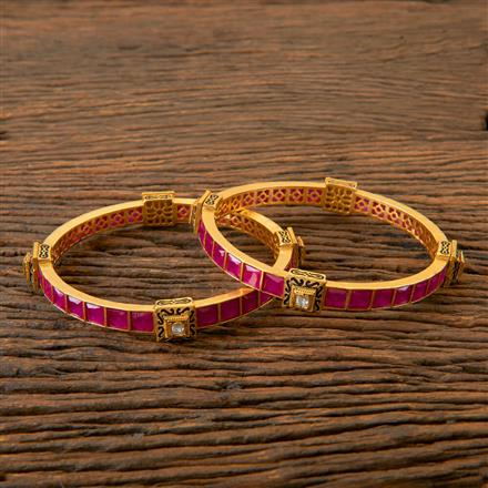 202767 Antique Classic Bangles with Gold Plating