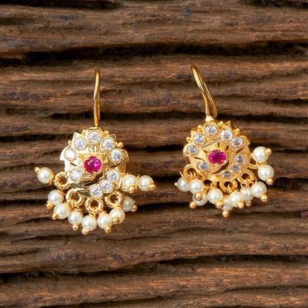 202812 Antique Delicate Earring with Gold Plating