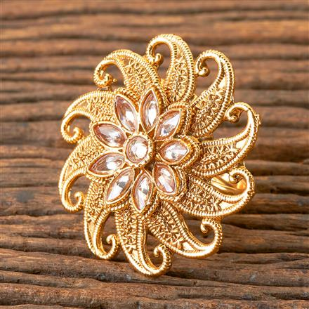 202958 Antique Classic Ring with Gold Plating