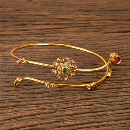 203053 Antique Classic Baju Band with Gold Plating