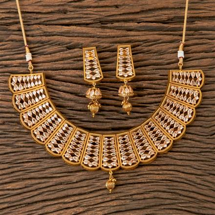 203300 Antique Classic Necklace with Gold Plating