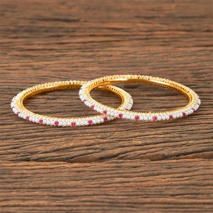 203329 Antique Delicate Bangles with Gold Plating