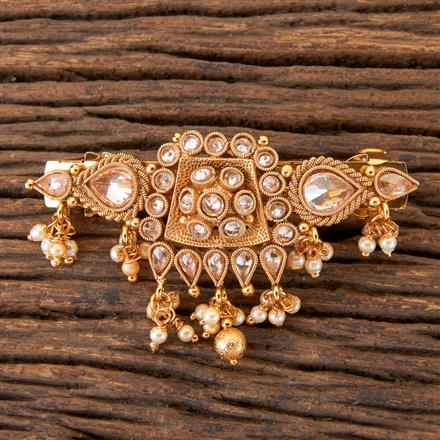 203443 Antique Classic Hair Clips With Gold Plating