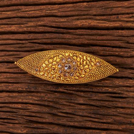 204082 Antique Classic Hair Clips With Gold Plating