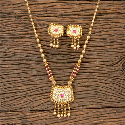 204098 Antique Classic Pendant Set With Gold Plating