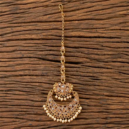 204187 Antique Chand Tikka With Gold Plating