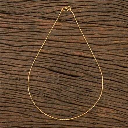 204412 Antique Plain Chain With Gold Plating