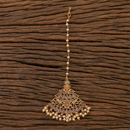 204505 Antique Classic Tikka With Gold Plating