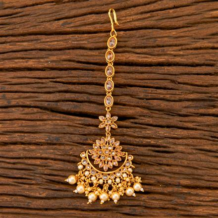 204619 Antique Chand Tikka With Gold Plating