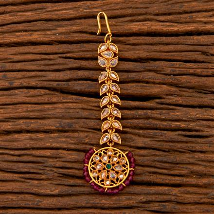 204620 Antique Classic Tikka With Gold Plating