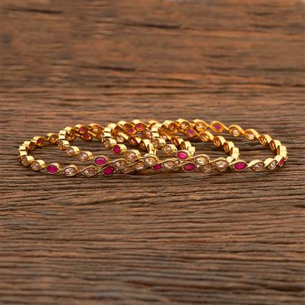 204725 Antique Classic Bangles with gold plating