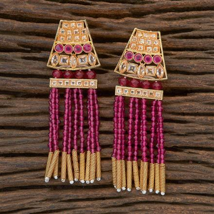 204803 Antique Classic Earring with gold plating