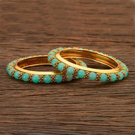 204813 Antique Classic Bangles with gold plating