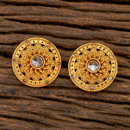 204831 Antique Tops with matte gold plating