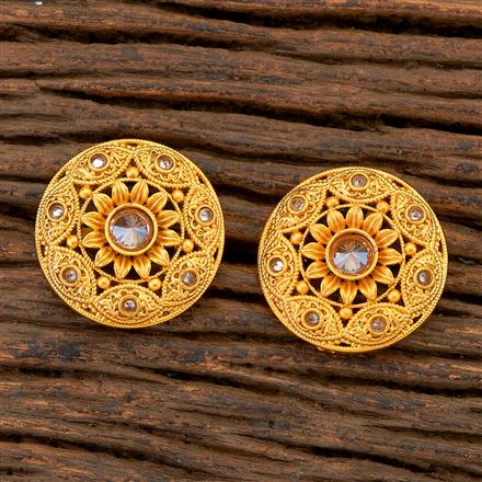 204833 Antique Tops with matte gold plating