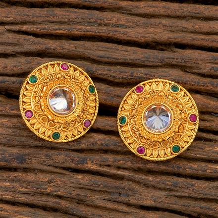204836 Antique Tops with matte gold plating