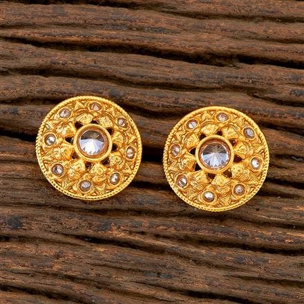 204837 Antique Tops with matte gold plating