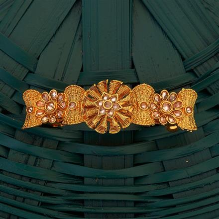 204876 Antique Classic Hair Clips with gold plating