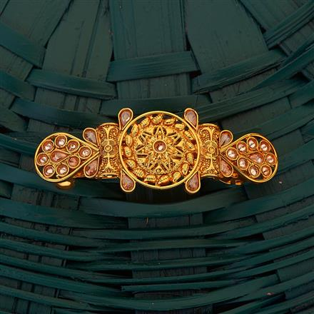 204878 Antique Classic Hair Clips with gold plating