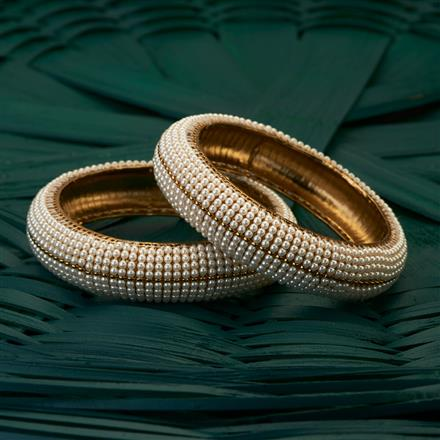 204909 Antique Classic Bangles with mehndi plating