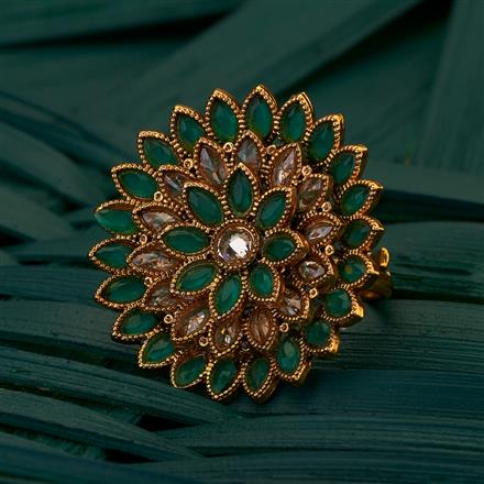 204995 Antique Classic Ring with gold plating