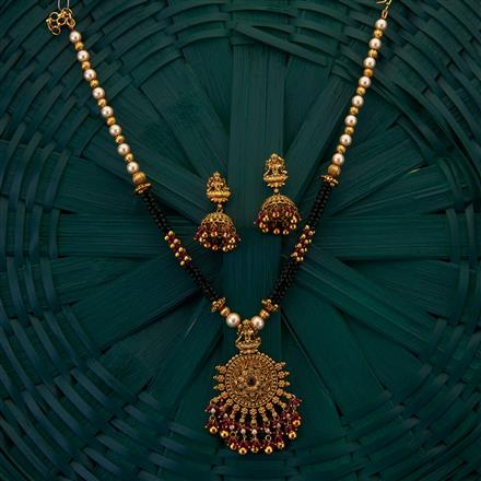 205005 Antique South Indian Pendant with gold plating
