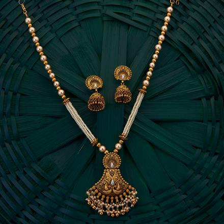 205007 Antique South Indian Pendant with gold plating