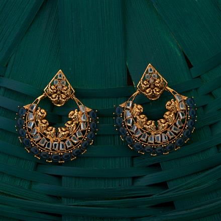 205037 Designer Classic Earring with gold plating