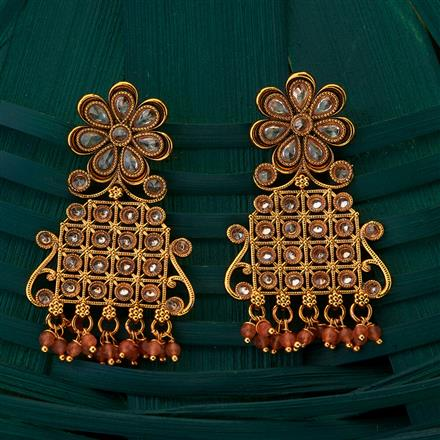 205050 Antique Classic Earring with gold plating