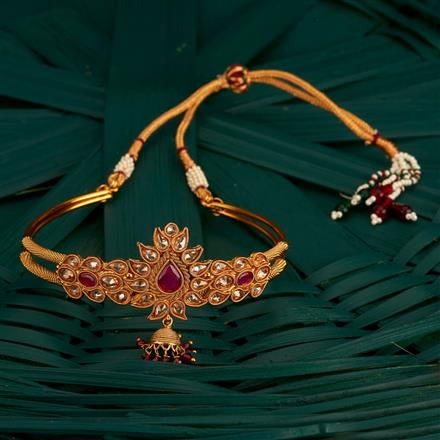 205137 Antique Classic Baju Band With Gold Plating