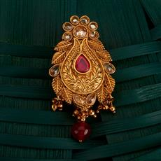 205145 Antique Classic Brooch With Gold Plating