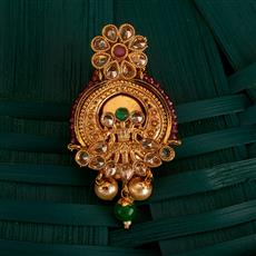 205146 Antique Classic Brooch With Gold Plating