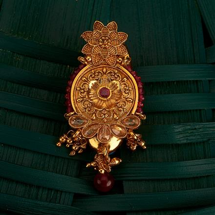 205147 Antique Classic Brooch With Gold Plating