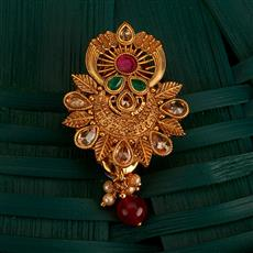 205148 Antique Classic Brooch With Gold Plating
