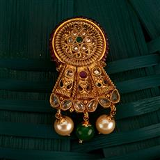 205153 Antique Classic Brooch With Gold Plating