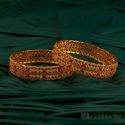 205207 Antique Delicate Bangles With Gold Plating