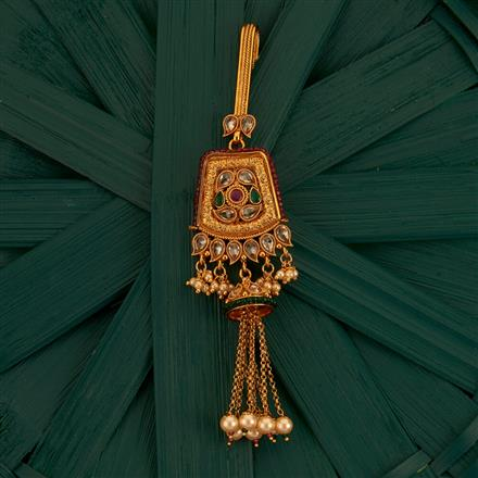 205211 Antique Classic Jhuda With Gold Plating
