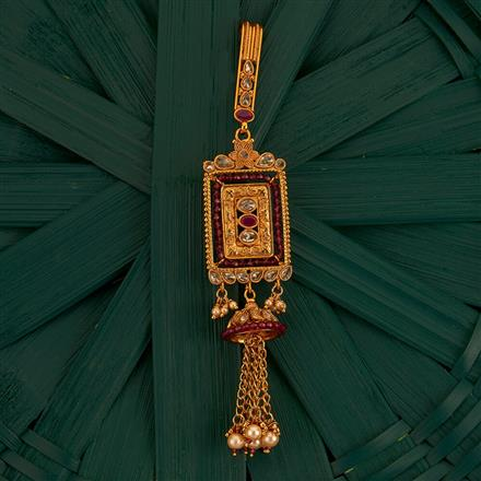 205212 Antique Classic Jhuda With Gold Plating