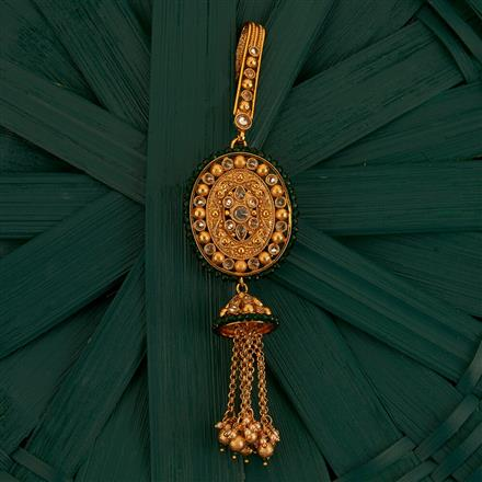 205213 Antique Classic Jhuda With Gold Plating