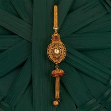 205215 Antique Classic Jhuda With Gold Plating