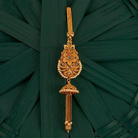 205218 Antique Classic Jhuda With Gold Plating